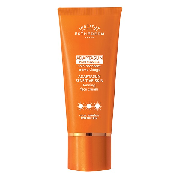 INSTITUT ESTHEDERM Paris UV InCellium Technology Adaptasun Sensitive Skin Tanning Face Cream Extreme 50ml