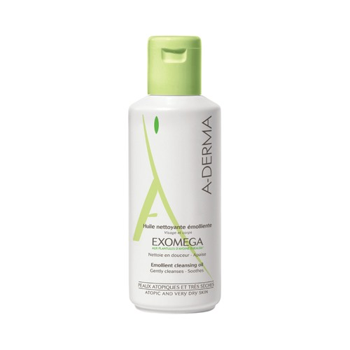 A-DERMA Exomega Cleansing Oil for Dry to Atopic Skin 200ml