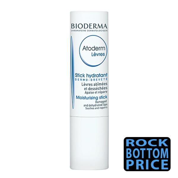 BIODERMA Atoderm Moisturising Stick for Dry Chapped Lips 4g
