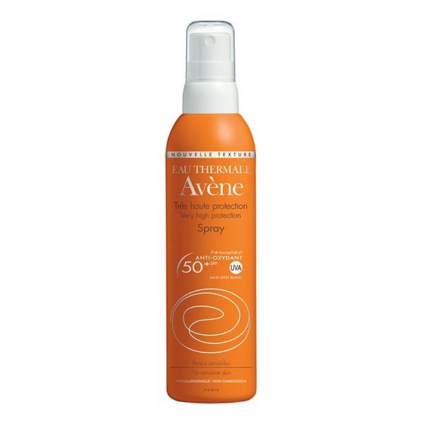 AVENE Sun Very High Protection Spray spf 50+ 200ml