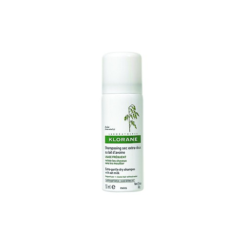 KLORANE Oatmilk Dry Shampoo Spray for Ultra Gentle Hair 50ml