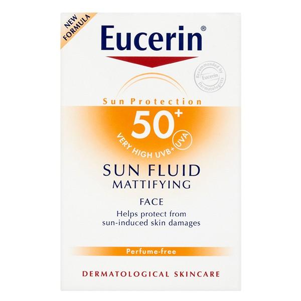 EUCERIN Sun Face Mattifying Fluid spf 50+ 50ml