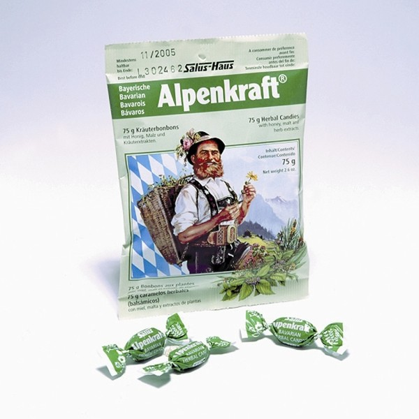 FLORADIX Alpenkraft Herbal Candies 75g