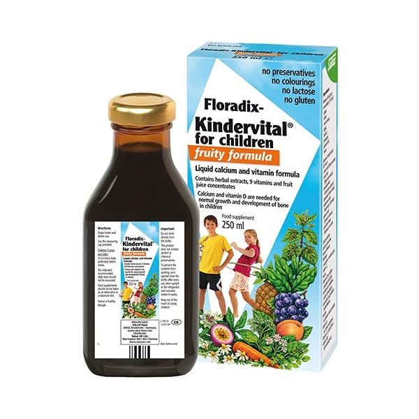 FLORADIX Liquid Kindervital Fruity Formula for Children 250ml