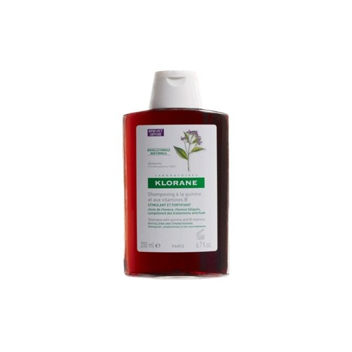 KLORANE Quinine Shampoo with B Vitamins Thinning Hair 200ml