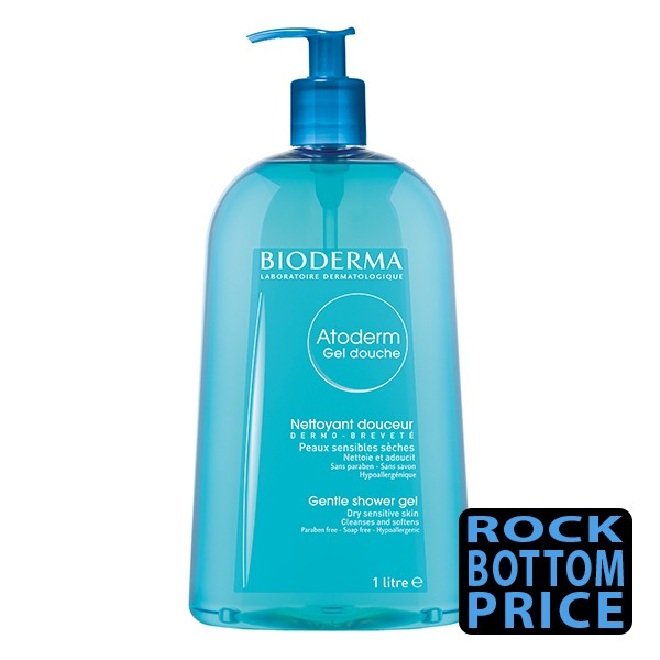 BIODERMA Atoderm Gel Douche for Dry Skin 1 Litre