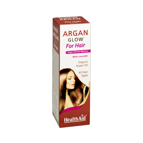 Health Aid Argan Glow for Hair 125ml