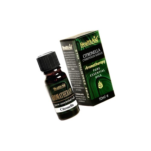 Health Aid Aromatherapy Citronella Oil 10ml