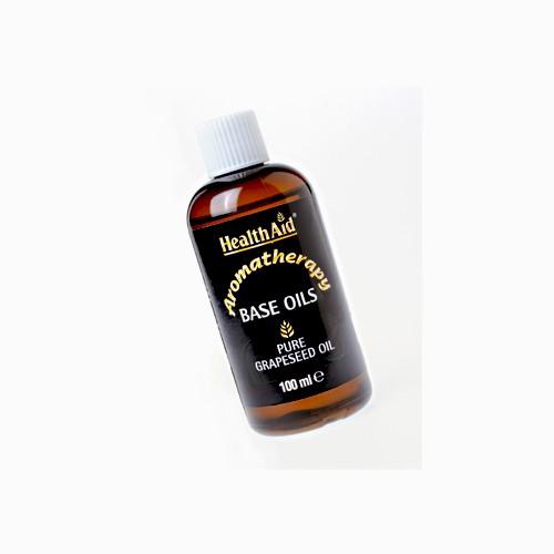 Health Aid Base Oil Pure Grapeseed Oil 100ml