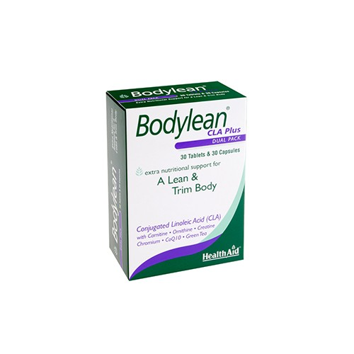 Health Aid Bodylean CLA Plus Dual Pack 30 Tablets & 30 Capsules