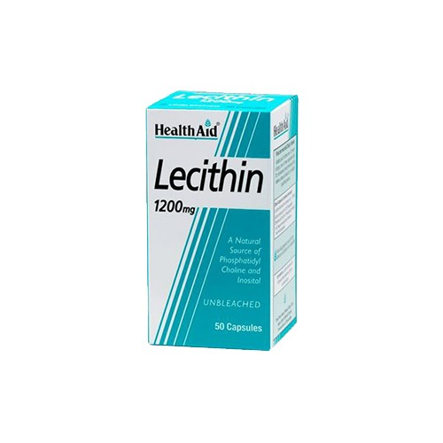 Health Aid Lecitin 1200mg 50 Capsules