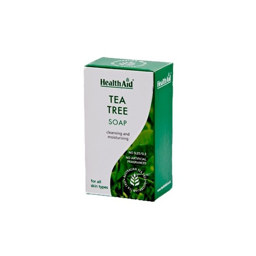 Health Aid Soap Tea Tree 100g