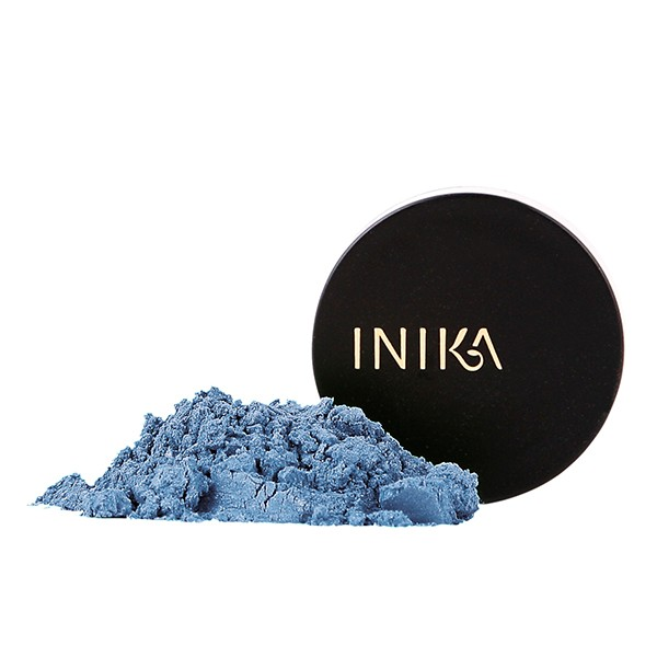 INIKA Truly Organics Mineral Eye Shadow Blue Steel 1,2g