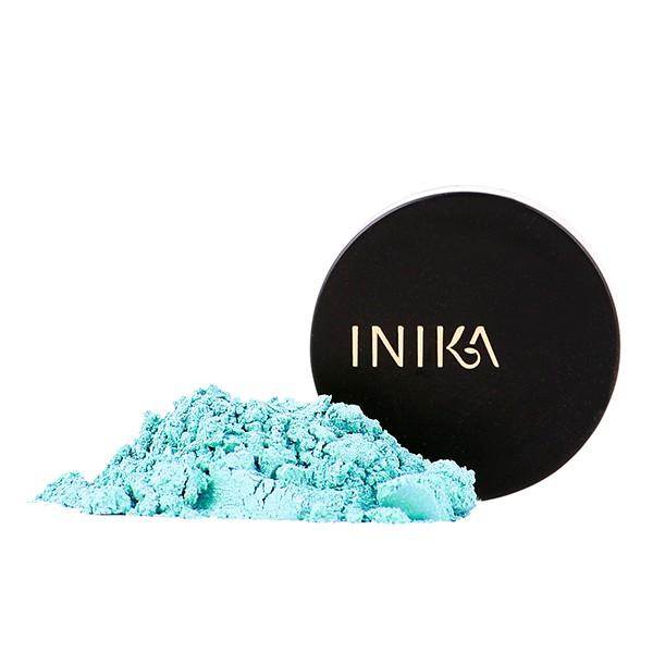 INIKA Truly Organics Mineral Eye Shadow Turquoise 1,2g