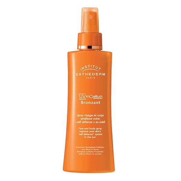 INSTITUT ESTHEDERM Paris UV InCellium Technology Bronz Impulse Face and Body Tanning Spray 150ml