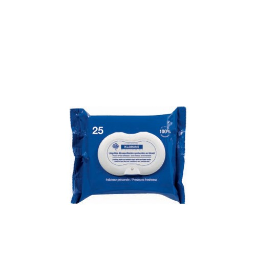 KLORANE Make up Removing 25 Wipes