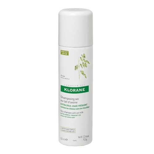 KLORANE Oatmilk Dry Shampoo Spray for Ultra Gentle Hair 150ml