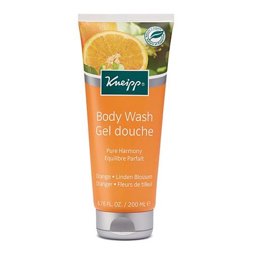 KNEIPP Body Wash Gel Pure Harmony Orange And Linden Blossom 200ml