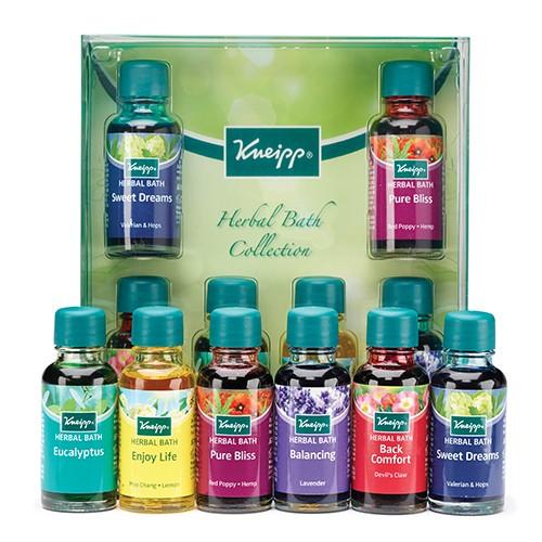 KNEIPP Herbal Bath Collection Oils 6x20ml