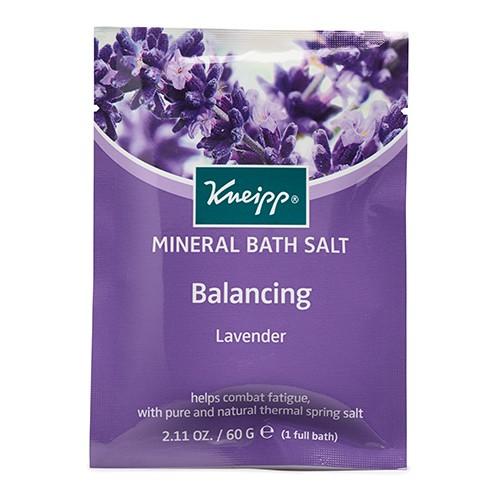 KNEIPP Bath Salt Sachet Balancing Lavender 60g