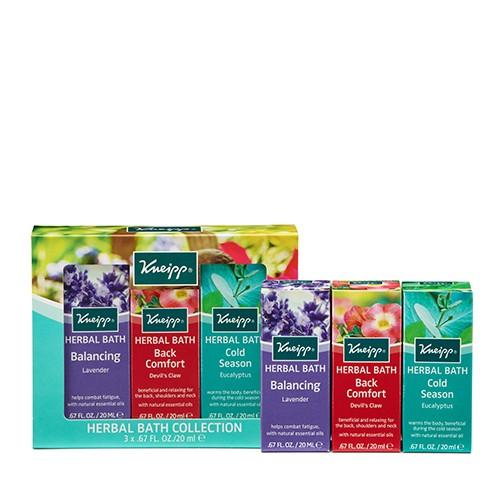 KNEIPP Herbal Bath Collection 3 x 20ml