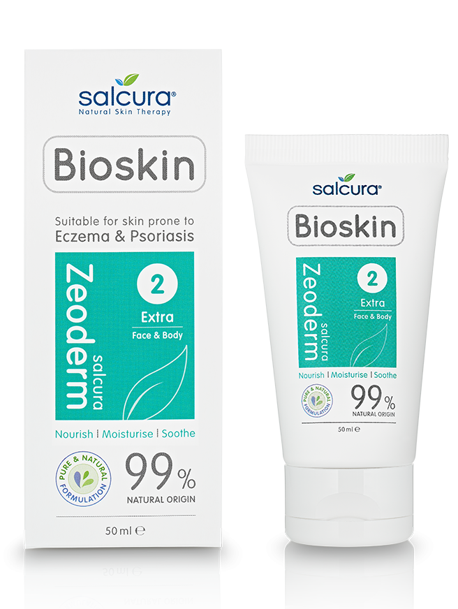 SALCURA Bioskin Zeoderm Skin Repair Moisturiser 100ml