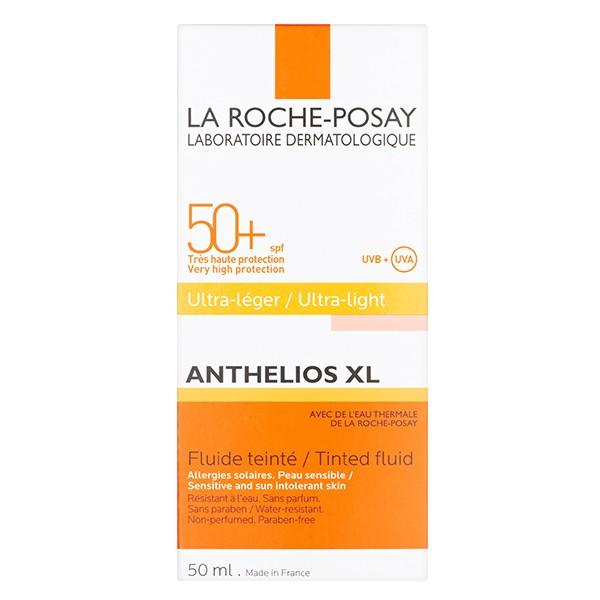LA ROCHE-POSAY Antheios XL Tinted Fluid 50+ Ultra Light 50ml