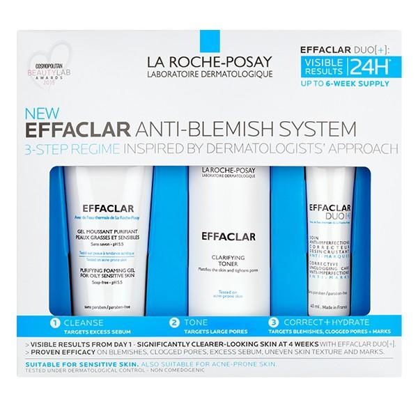 LA ROCHE POSAY Effaclar Anti-Blemish System 6 Week Supply 365ml