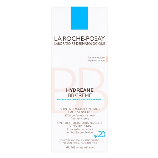 LA ROCHE-POSAY Hydreane BB Cream Medium Shade 40ml