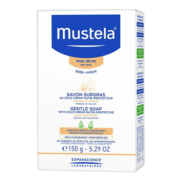 MUSTELA Bebe Gentle Soap 150g