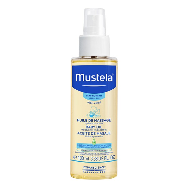 MUSTELA Bebe Massage Oil 110ml