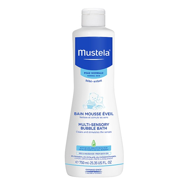 MUSTELA Bebe Multi Sensory Bubble Bath 750ml