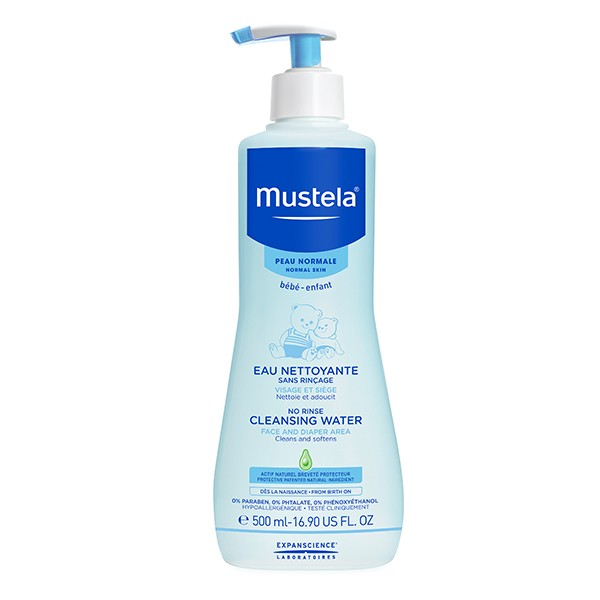 MUSTELA Bebe Cleansing Water 500ml