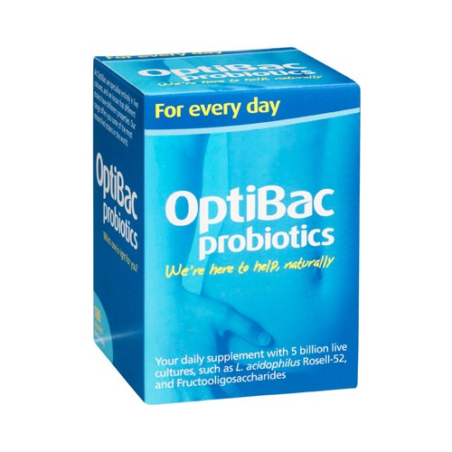 OPTIBAC Probiotics Every Day Well Being 180 Capsules