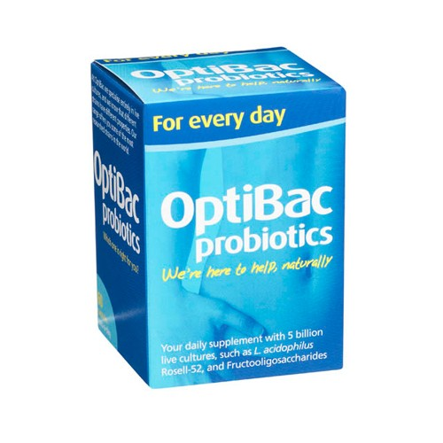 OPTIBAC Probiotics Every Day Well Being 60 Capsules