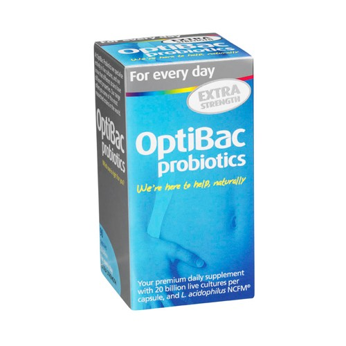 OPTIBAC Probiotics Every Day Well Being Extra 20 Billion 90 Caspules