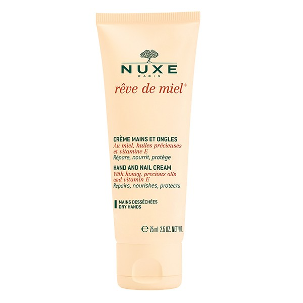 NUXE Reve De Miel Hand and Nail Cream for Dry Skin 75ml