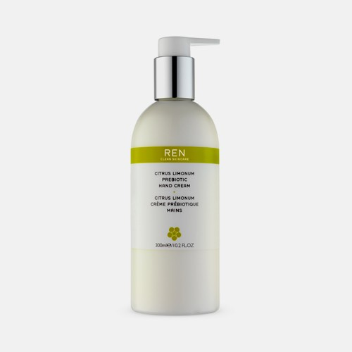 REN Citrus Limonum Prebiotic Hand Cream for All Skin Types 300ml
