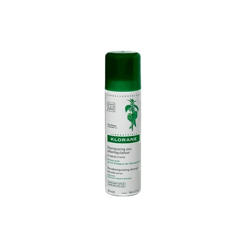 KLORANE Sebo-Regulating Dry Shampoo with Nettle Oily Prone Hair 150ml