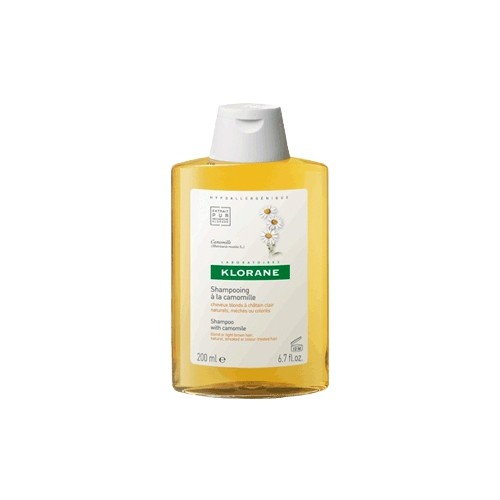 KLORANE Chamomile Shampoo for Blonde Hair 200ml