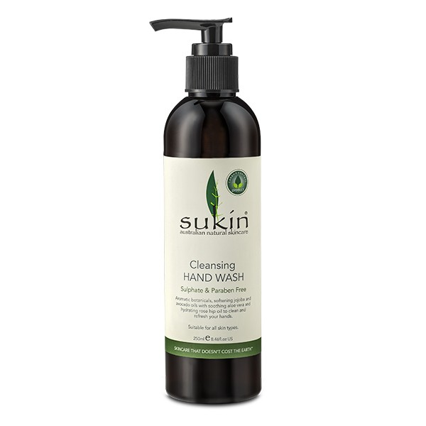 SUKIN Cleansing Hand Wash 250ml