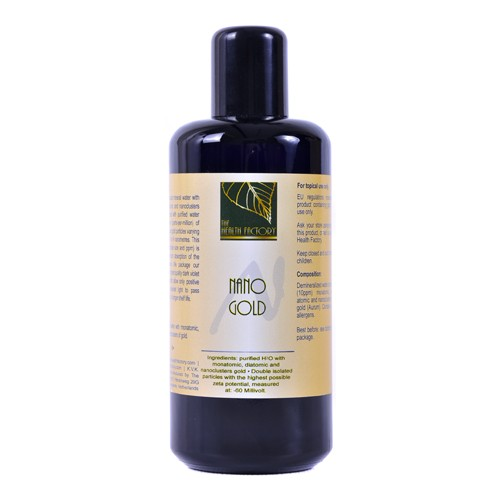 The Health Factory Nano Mineral Water Gold 200ml