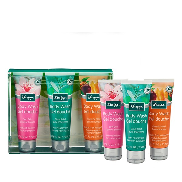 KNEIPP Body Wash Collection 3x75ml