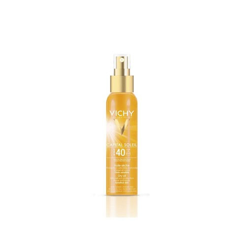 VICHY Capital Soleil Dry Oil SPF40 UVB+UVA 125ml