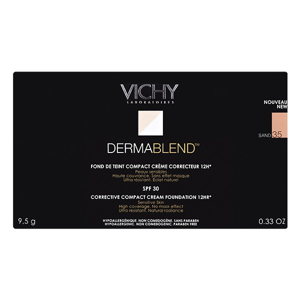 VICHY Dermablend Corrective Compact Cream Foundation Sand 35 5g