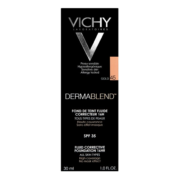 VICHY Dermablend Corrective Smooth Foundation Gold 45 30ml
