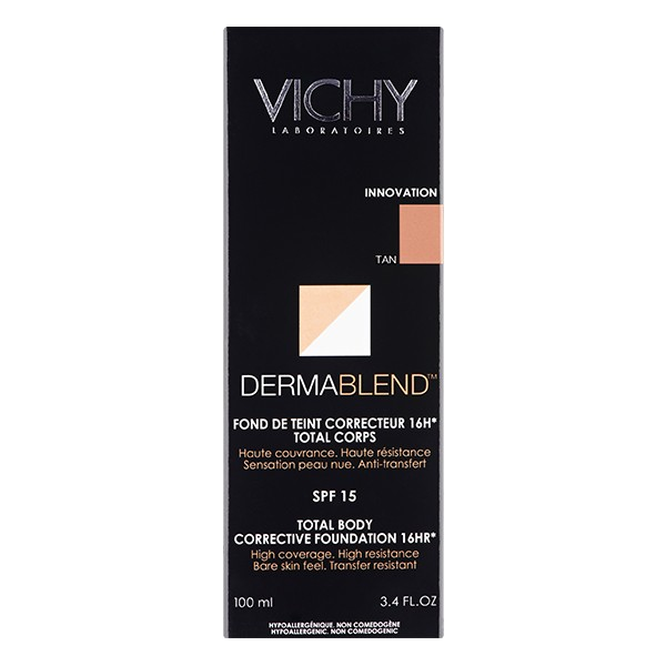 VICHY Dermablend Total Body Corrective Foundation Tan 100ml